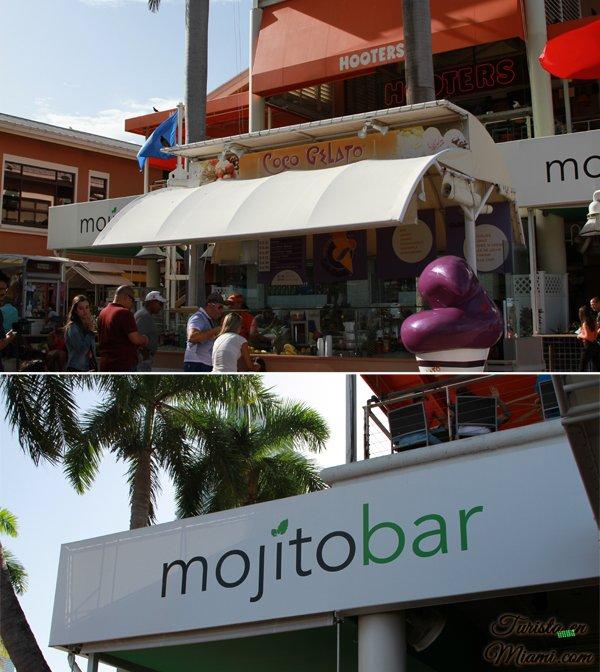 Compras en Bayside Marketplace, Miami