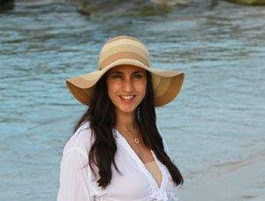 Laura de Turista en Miami