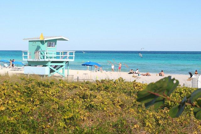Playa de Miami Beach. Foto: Olf-P