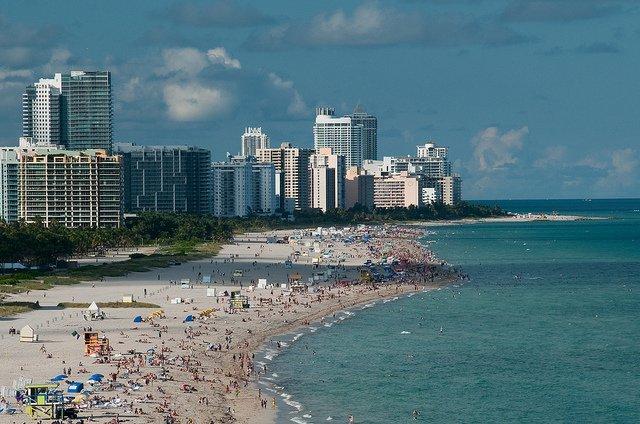 Playa de Miami Beach. Foto: Timothy Wildey