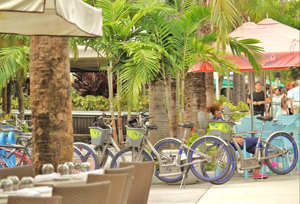 CitiBike, bicicletas en Miami Beach