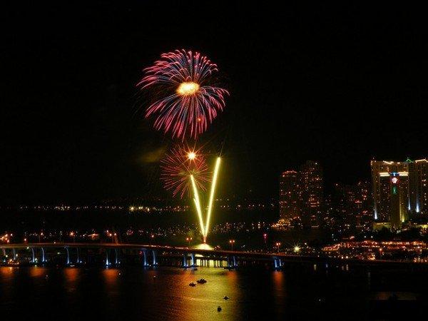 Dónde recibir el año nuevo en Miami? Bayfront, Downtown Miami. Foto: Lonny Paul