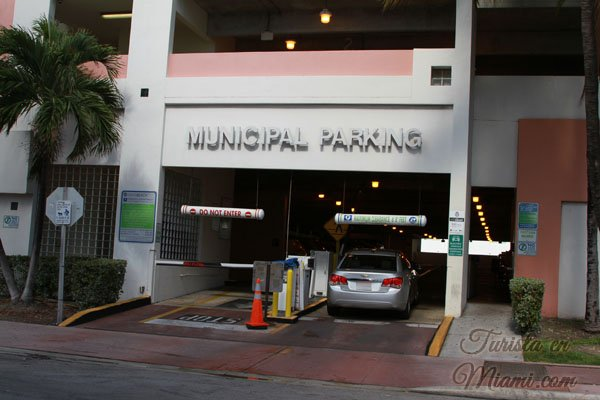 estacionar en Miami Beach