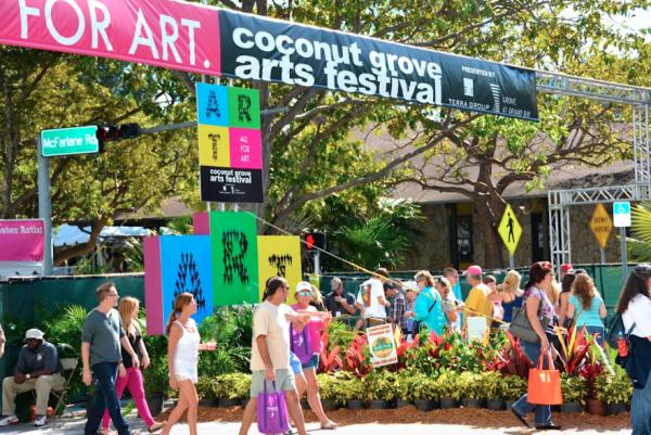 Coconut Grove Arts Festival. Foto: cgaf.com