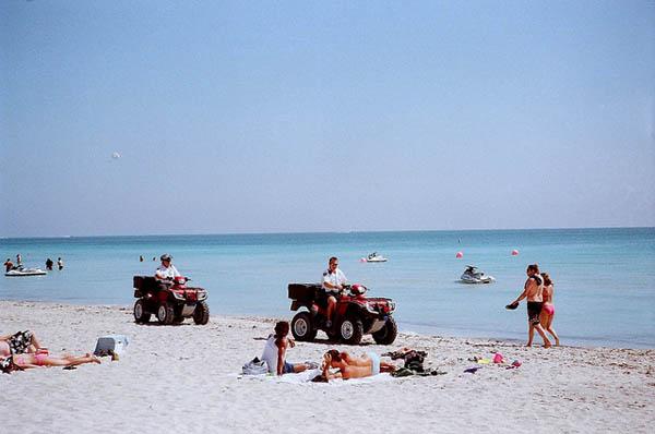 Feriados en Miami Beach. Foto: Phillip Pessar