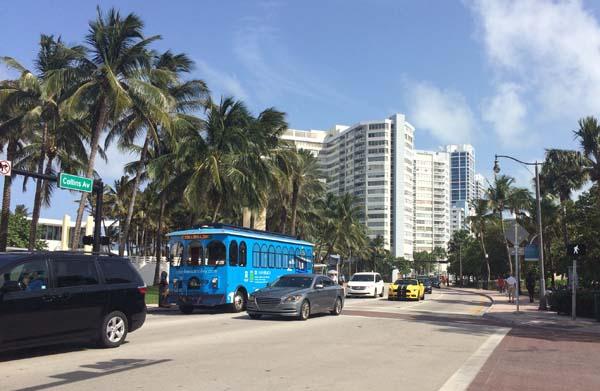 Trolleyen Miami Beach
